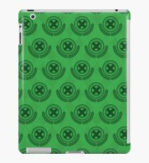 School For Gifted Youngsters - Green iPad Case/Skin