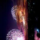 Sydney NY Fireworks 2013 by Inishiata