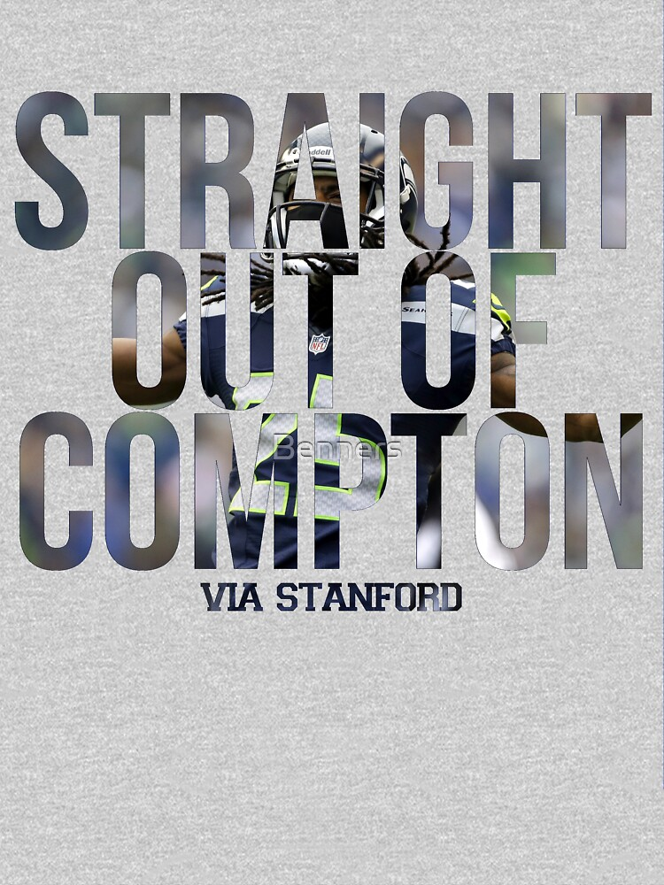 'Straight Outta Compton' Sherman-Style | Unisex T-Shirt