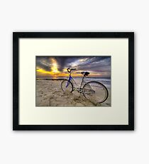 Sunrise Cruiser Framed Print