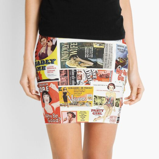 Bad Girls and Femme Fatales Mini Skirt