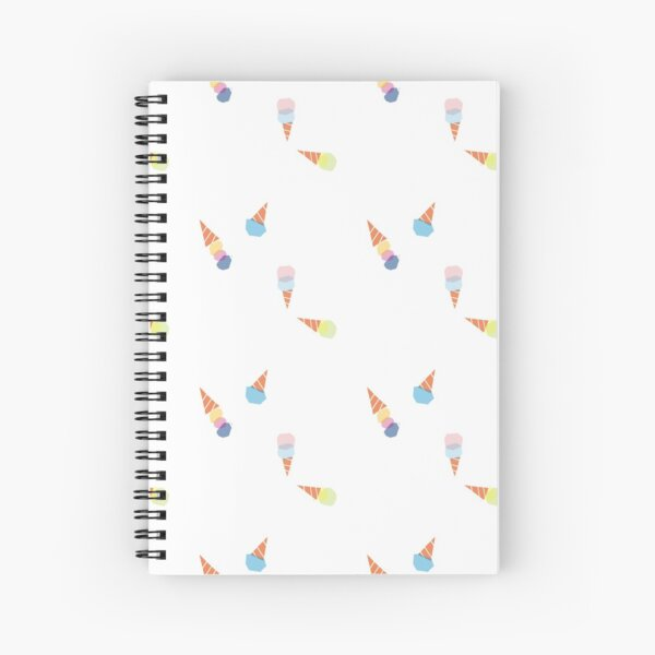 Ice cream party Spiral Notebook