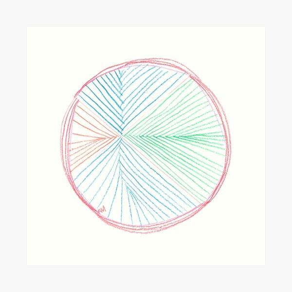 2020 06 01 sketchbook  Art Print