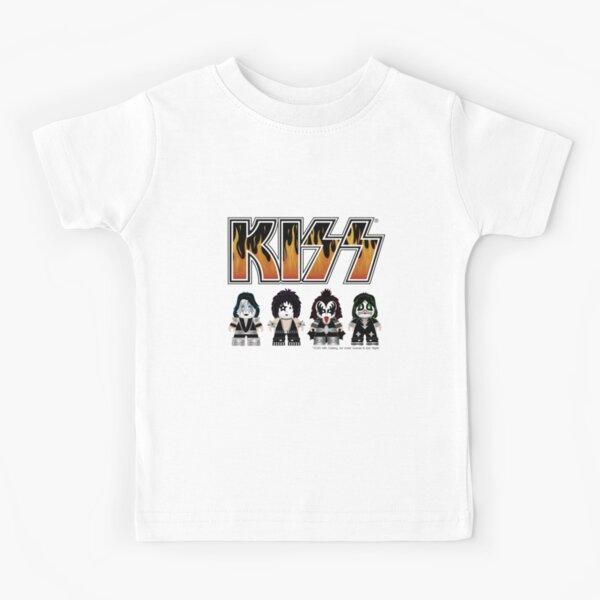 Kiss band - Logo Characters - Design mignon pour les enfants T-shirt enfant
