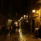 Barcelona after rain by Pawel J