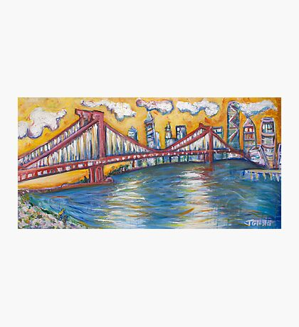 Manhattan Bridge - NYC Photographic Print