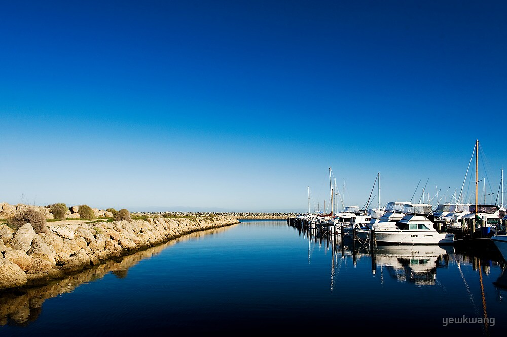 Challenger Harbour of Fremantle by yewkwang