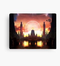 The Orb of Akatosh Canvas Print