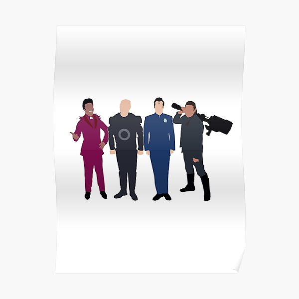 """Red Dwarf Boys from the """"Dwarf"""" Poster"""