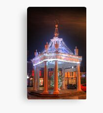 Market Cross HDR Canvas Print