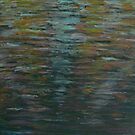 Sunlight on canal water by George Hunter
