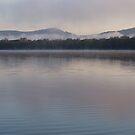 Myall Lake Morning ,NSW by Virginia McGowan