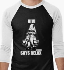 Vivi Says Relax - Monochrome White T-Shirt