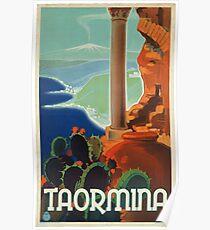 Vintage poster - Taormina Poster