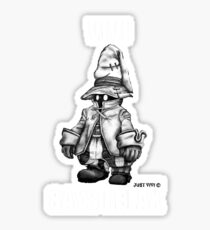 Vivi Says Relax - Sketch Em Up - White Sticker