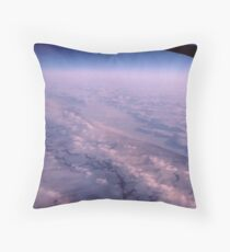 """ A Frozen World "" Throw Pillow"