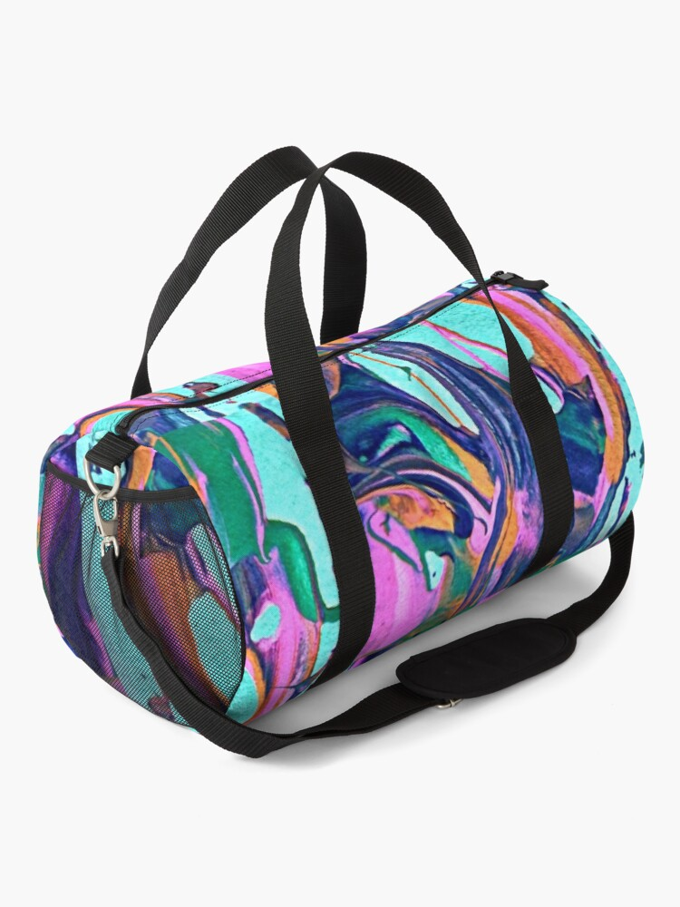 Alternate view of Abstract 12131 Duffle Bag