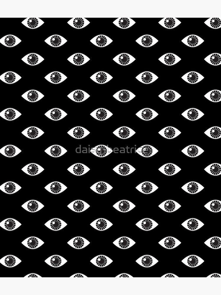 Eyes Wide Open - on Black by daisy-beatrice