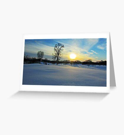 Prairie Wonderland Greeting Card
