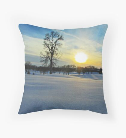 Prairie Wonderland Throw Pillow