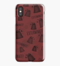 Daleks - Red iPhone Case/Skin