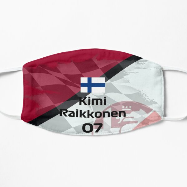 Kimi Raikkonen Alfa Romeo 2020 simple design Mask