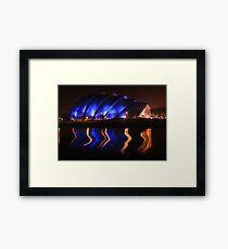 Armadillo, Glasgow Framed Print