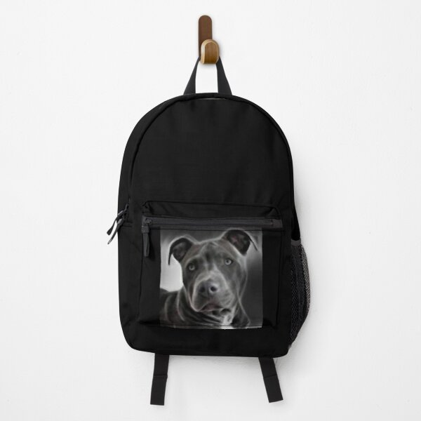 Pit bull design for Blue Nose PitBull Lovers will love this  beautiful painting of this gentle breed Backpack