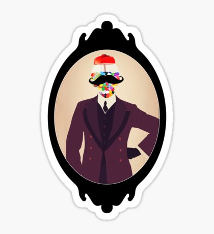 The Perfect Gentleman Sticker