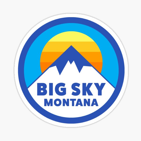 Big Sky, Montana Sticker