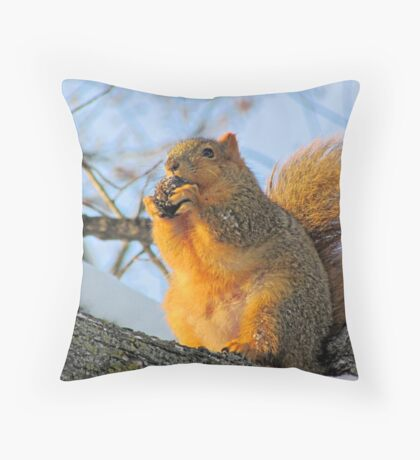 We Take the Nut Very Seriously Throw Pillow