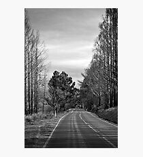 Desolate highway Photographic Print