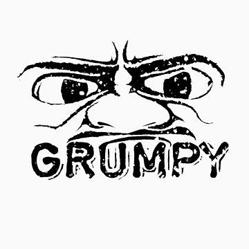 Grumpy by sparklellama