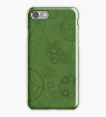Gallifrey Pattern - Green iPhone Case/Skin