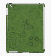 Gallifrey Pattern - Green iPad Case/Skin