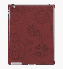 Gallifrey Pattern - Red Coque et skin iPad