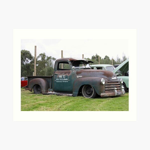 Chevrolet Truck - Rat Look Art Print