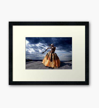 Exotic Street Dancer Framed Print