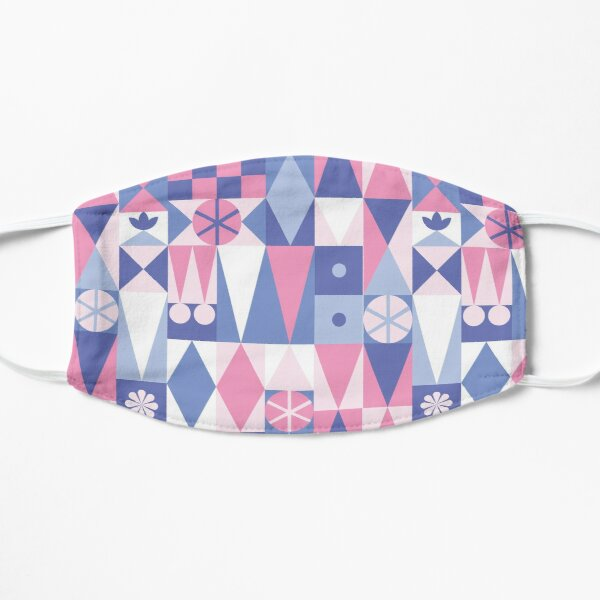 Carpet - Pink and Blue Mask