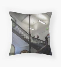Stairway in 'Brookman Building' Adelaide Uni, built 1889. Throw Pillow