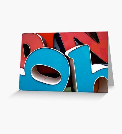 Big Plastic BB's Greeting Card