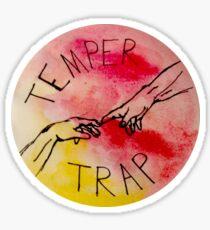 Temper Trap Sticker