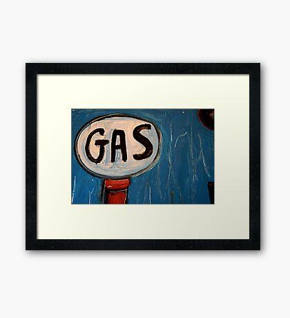 It's a Gas! Framed Print