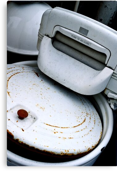 Laundry Day - 50 Years Ago! by Mary Ellen Garcia