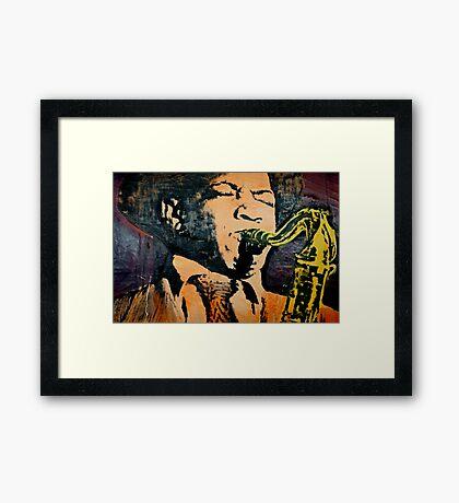 All That Jazz! Framed Print