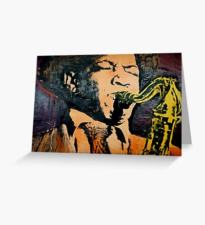 All That Jazz! Greeting Card