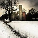 Winter Barn by Karri Klawiter