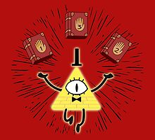 Bill Cipher | Gravity Falls by Mark Quimoyog