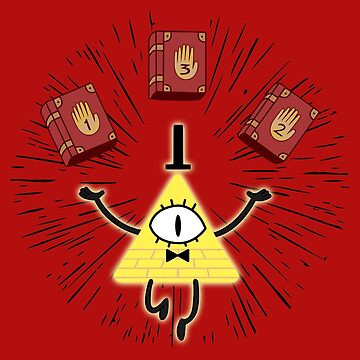 Bill Cipher | Gravity Falls by markalackiie