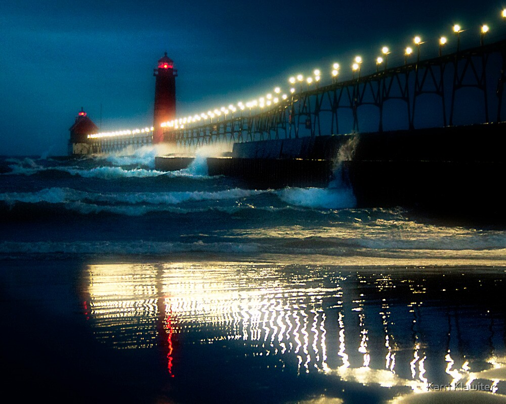 Grand Haven Pier by Karri Klawiter